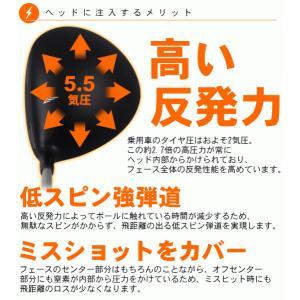 ゴルフクラブ AIR FORCE ONE N7 ドライバー powerbilt 02