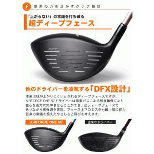 ゴルフクラブ AIR FORCE ONE N7 ドライバー powerbilt 03