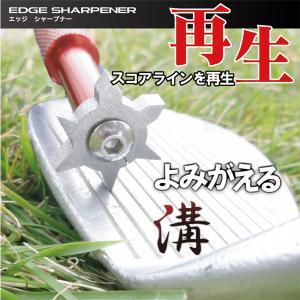 エッジシャープナー ゴルフヘッド 溝 汚れ落とし ライン補正 |powerbilt