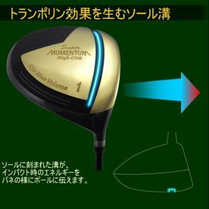 ゴルフクラブ ドライバー 超高反発×530ccBIGヘッド高弾性超軽量カーボンシャフト装着SUPER MOMENTUM530ドライバー SUPER MOMENTUM/ POWERBILT powerbilt 05
