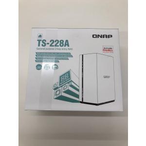 【新品処分セール】QNAP TS-228A プライベートクラウドおよびホームエンターテイメント向けの軽量かつパワフルなエントリレベルNAS(2ベイ) powerdepot