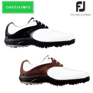 シューズ系 FOOTJOY-フットジョイ- MENS GREENJOYS グリーンジョイズ (メンズ) スパイク ゴルフシューズ 足幅:W(EE) powergolf-y