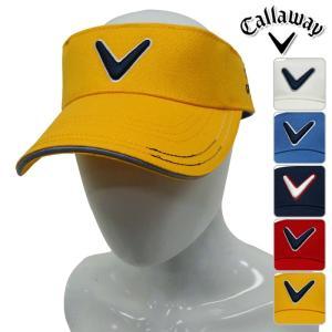 帽子系 241-7184500 NEW春夏モデル Callaway Apparel-キャロウェイアパレル- MENS (メンズ) オックス サンバイザー 17 バイザー ゴルフ用品 powergolf-y