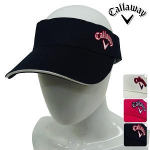 帽子系 241-7184800 NEW春夏モデル Callaway Apparel-キャロウェイアパレル- LADYS (レディース) ツイル サンバイザー 17 帽子・バイザー ゴルフ用品|powergolf-y