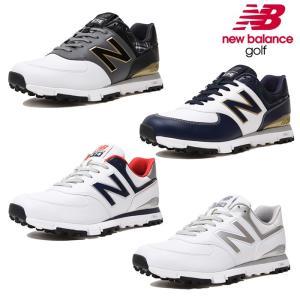 49f6b94a65ee5 NEW BALANCE GOLF ニューバランスゴルフ MENS メンズ LADYS レディース MGS574 スパイクレス ゴルフシューズ 靴紐タ