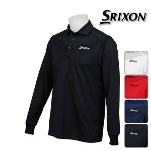 ◆SRIXON by DESCENTE スリクソン by デサント 長袖 ポロシャツ MENS メン...