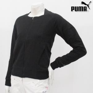 PUMA-プーマ()- LADYS 507656(レディース) MBジャケット フルジップタイプのトレーナー XS、S、Mサイズ ブルゾン/ジャケット|powergolf-y