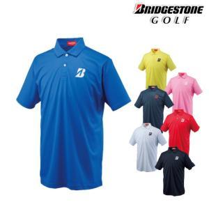 ブリヂストン-BRIDGESTONE- メンズ 半袖ポロシャツ(55G01A) ブリヂストン-BRIDGESTONE- 2016年FWカタログ商品