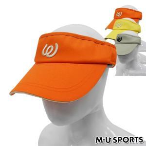 帽子系 MU SPORTS-エムユー- LADYS 700W0751(レディース) サンバイザー 帽子 | ・ ゴルフ パワーゴルフ|powergolf-y