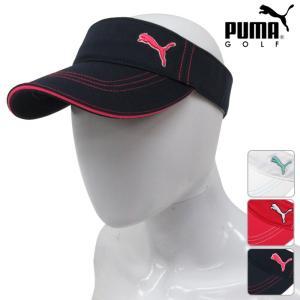 帽子系 866431 NEW秋冬モデル PUMA GOLF-プーマゴルフ- LADIES(レディース) ウィメンズ ツイル バイザー 17 ゴルフ用品|powergolf-y