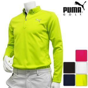 長袖シャツ系 923434 2016年秋冬モデル PUMA GOLF-プーマゴルフ- MENS (メンズ) ゴルフ LS長袖ボタンダウン ポロシャツ トップス ウエア M,L,XL,XXLサイズ|powergolf-y