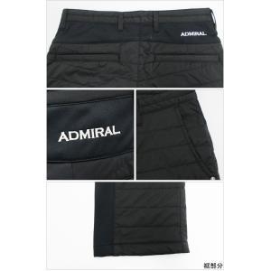 Admiral GOLF アドミラルゴルフ ノータック ロングパンツ MENS メンズ 秋冬  ADMA7T3 NEW秋冬モデル スト|powergolf-y|03