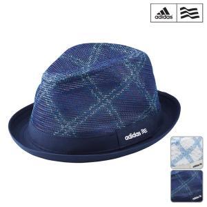 帽子系 AWV17 NEW春夏モデル adidas golf-アディダスゴルフ- MENS (メンズ) SP ローズチェックハット 17 帽子・ハット ヘッドウエア ゴルフ用品 powergolf-y