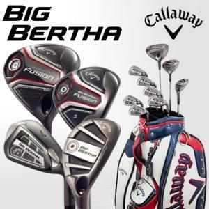 キャロウェイ ビッグバーサ ゴルフクラブセット ゴルフセット メンズ フルセット Callaway BIG BERTHA 2016年モデル 9本セット キャディバッグ付き