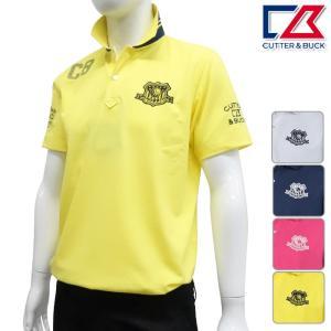 半袖シャツ系 CBM2741 NEW春夏モデル CUTTER&BUCK-カッターアンドバック- MENS (メンズ) 半袖ポロシャツ 17 トップス ウエア M,L,LL,3Lサイズ ゴルフ用品|powergolf-y