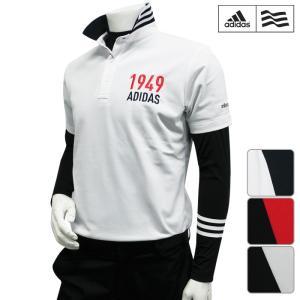 アディダス adidas ゴルフウェア メンズ ポロシャツ ...