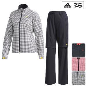 adidas golf アディダスゴルフ レインウェア 上下セット 2枚組 LADYS レディース CCM86 CLIMAPROOF ストレッチレイ...