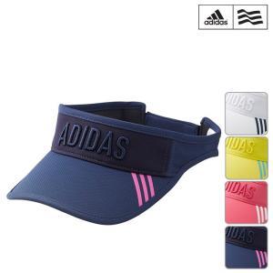 帽子系 CCP34 NEW春夏モデル adidas golf-アディダスゴルフ- LADYS (レディース) スリーストライプ バイザー 17 帽子・バイザー ヘッドウエア ゴルフ用品|powergolf-y