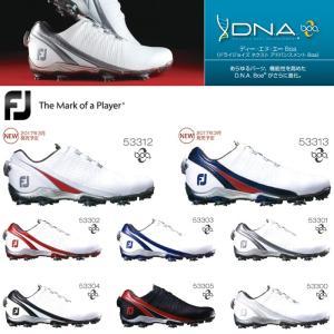 フットジョイ FootJoy ゴルフシューズ メンズ ボア ダイヤル式 おしゃれ 人気 ディーエヌエーボア DNA Boa 2016年モデル powergolf-y