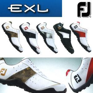 フットジョイ FootJoy ゴルフシューズ メンズ スパイクレス 紐靴 おしゃれ 人気 イーエックスエル EXL 2017年モデル powergolf-y