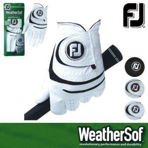 ゆうパケット対応可能商品 グローブ系 FGWF15 FOOTJOY-フットジョイ- WeatherSof ウェザーソフ MENS (メンズ) ゴル|powergolf-y