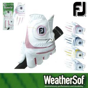 ゆうパケット対応可能商品 グローブ系 FGWFW15 FOOTJOY-フットジョイ- WeatherSof ウェザーソフ LADYS (レディース|powergolf-y