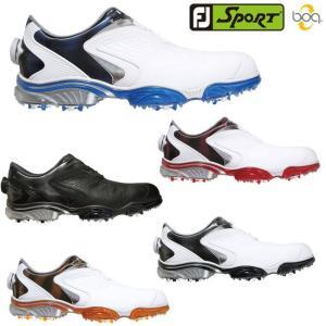 在庫限り FOOTJOY-フットジョイ- MENS FJ SPORT Boa FJ スポーツ ボア (メンズ) スパイク ゴルフシューズ 足幅:W powergolf-y
