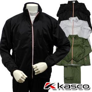 当店在庫商品 高機能レイン キャスコ-Kasco- MENS KRW-012(メンズ) レインウェア上下セット レイン M,L,LLサイズ | ・ ゴルフ パワーゴルフ|powergolf-y