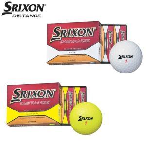 2015年モデル ダンロップ スリクソン/SRIXON SRIXON DISTANCE スリクソン ディスタンス ゴルフボール ボール 1ダース(