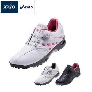 アシックス ASICS ゴルフシューズ レディース スパイクレス ゲルタスクボア GEL-TUSK Boa GN912 2015年モデル