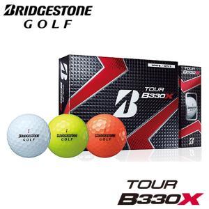 ブリヂストン-BRIDGESTONE- TOUR B330X ツアー ビー サンサンマル エックス ゴルフボール 1ダース(12個) ゴルフボール