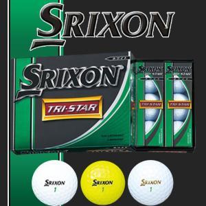 2014年モデル -ダンロップ SRIXON-スリクソン TRI STAR トライスター 1ダース(12球入り) ゴルフボール ゴルフ スリクソン ボール ゴルフボール