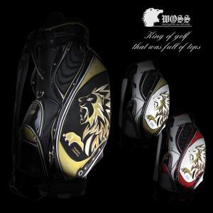 WOSS ウォズ キャディバッグ メンズ キャディーバッグ ゴルフバッグ カートバッグ おしゃれ かっこいい 人気 珍しい 数量限定 アウトレット セール WPC-16X