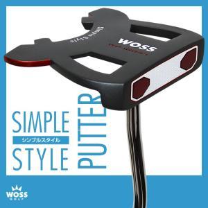 パター WOSS(ウォズ)シンプルスタイル パター WP-1604/1 ネオマレット メンズ レディース/ゴルフ クラブ 男女兼用 激安 アウトレット価格