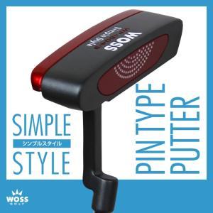 パター WOSS(ウォズ)シンプルスタイル パター WP-1604/3 ピン型 メンズ レディース/ゴルフ クラブ 男女兼用 激安 アウトレット価格