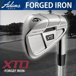 2014年モデル ADAMS GOLF-アダムスゴルフ XTD FORGED IRON フォージドアイアン6本組 #5-9.PW NS PRO MODUSシャフト