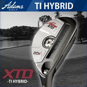 2014年モデル ADAMS GOLF-アダムスゴルフ XTD TI HYBRID ハイブリッド ユーティリティ三菱レーヨンシャフト