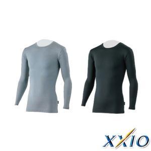 秋冬モデル ダンロップDUNLOP XXIO/ゼクシオ MENS XXA1080(メンズ)発熱長袖インナーシャツ トップス ウェア M,L,LLサ