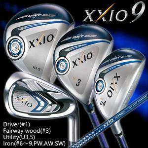 ゼクシオ9 XXIO9 ゴルフクラブセット ゴルフセット メンズ ドライバー フェアウェイウッド ユーティリティ アイアンセット 11本セット Set2|powergolf-y