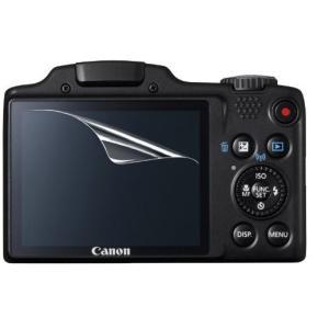 【高光沢タイプ】Canon PowerShot SX510HS/SX500HS/SX400IS専用  指紋防止 反射防止 気泡レス加工 高光沢 カメラ液晶保護フィルム