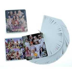 TWICE トゥワイス グッズ【韓国語 単語 カード 63枚入】 + ケース付 新作写真2