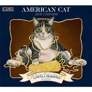 2018ラングカレンダー American Cat pp-koshidou