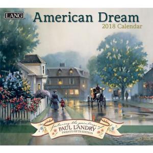 2018ラングカレンダー American Dream pp-koshidou