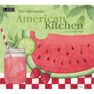 2018ラングカレンダー American Kitchen pp-koshidou