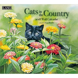 2018ラングカレンダー Cats In The Country|pp-koshidou