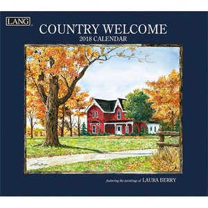 2018ラングカレンダー Country Welcome pp-koshidou