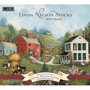 2018ラングカレンダー Linda Nelson Stocks pp-koshidou