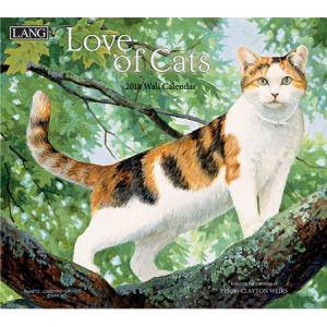 2018ラングカレンダー Love Of Cats pp-koshidou