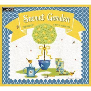 2018ラングカレンダー Secret Garden pp-koshidou
