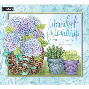 2019ラングカレンダー Abundant Friendship|pp-koshidou